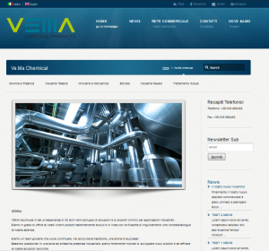 New Site per Ve.Ma Chemical
